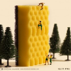 Sponge Climbing