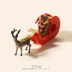 Santa claus sled