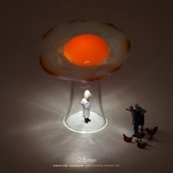 Sunny-side UFO