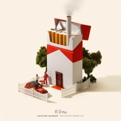 Cigarette House