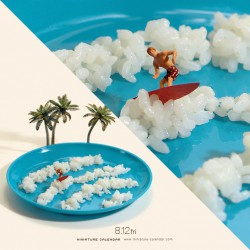 Surfing rice