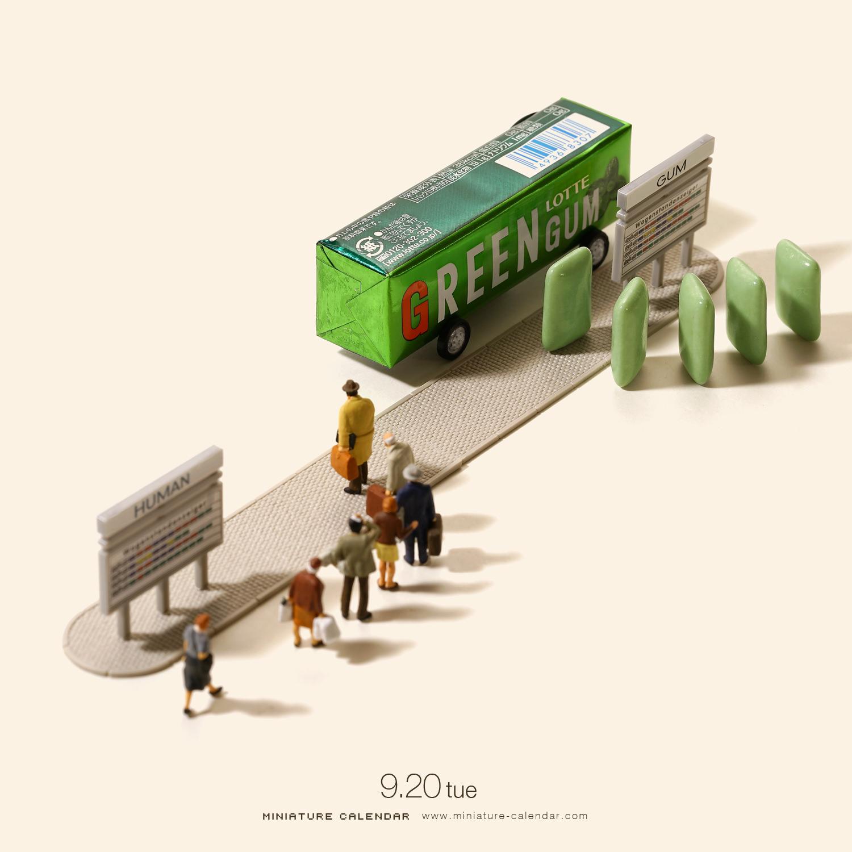 场景模型 9月下日本设计师田中达也tanaka tatsuya生活情景精选