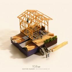 Matching house