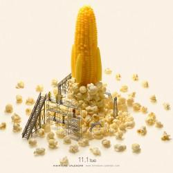 Corn rocket