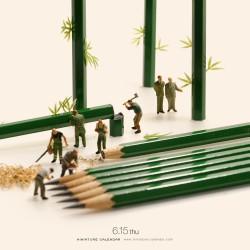 Bamboo Pencil