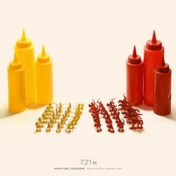 Mustard vs Ketchup