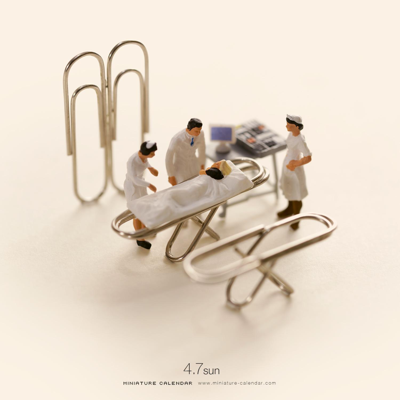 Miniature Calendar.Miniature Calendar